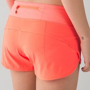 Lululemon Run: Speed Short *4-way Stretch